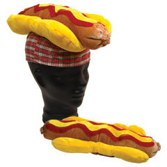 Hot dog hat, blank