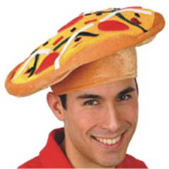 Pizza hat, blank