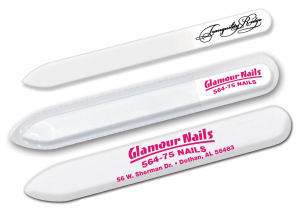 Nail File w/ Sleeve.