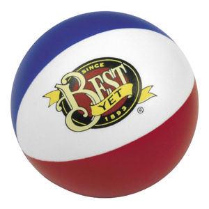 Beach ball shape stress