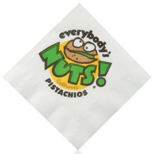 Promotional Napkins-H-N10-White