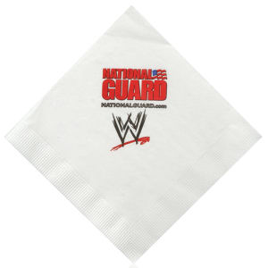 Promotional Napkins-H-N13-White