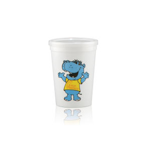 Promotional Plastic Cups-H-ST12-WHITE