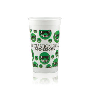 Promotional Plastic Cups-H-ST22-WHITE