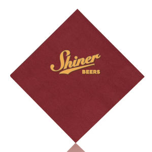 Promotional Napkins-T-N10-BURGUNDY