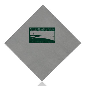 Promotional Napkins-T-N10-Silver