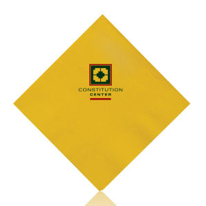 Promotional Napkins-T-N10-YELLOW