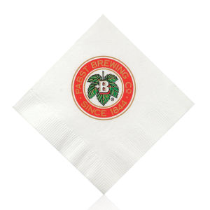 Promotional Napkins-T-N10-WHITE