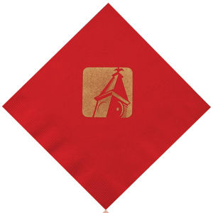 Promotional Napkins-T-N13-Red