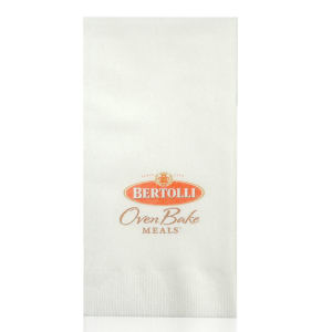 Promotional Napkins-T-N17L-WHITE