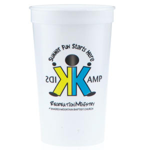 Promotional Stadium Cups-T-ST22-White