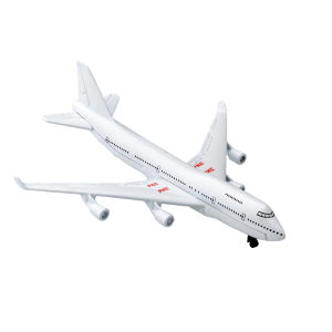 White airliner, die cast