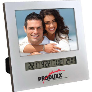 Photo frame with digital