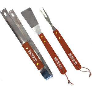 Personalized One color printed Promo BBQ Set
