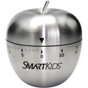Stainless steel apple shaped