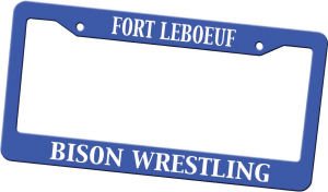 Custom Imprinted License Plate Frame