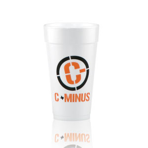 Promotional Foam Cups-T-S20