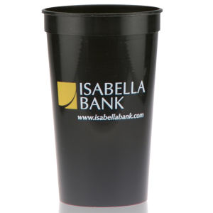 Promotional Stadium Cups-T-ST22- Black