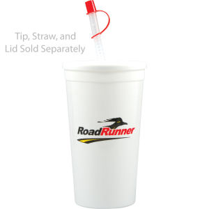 Promotional Plastic Cups-H-ST32-WHITE