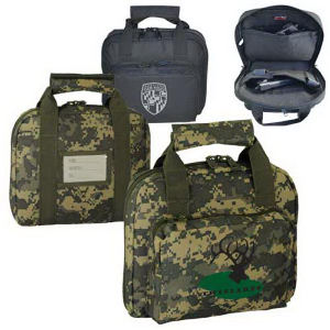 Dual compartment gun bag.