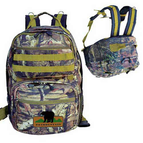 Camouflage ultimate outdoor backpack.