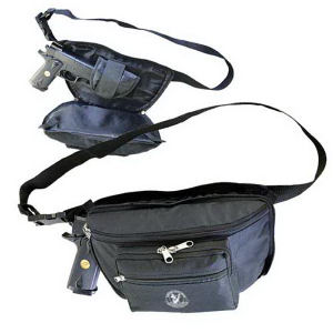 Waist pack with Q-access
