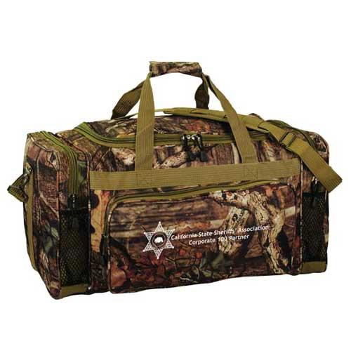 Camouflage outdoor duffel, 24