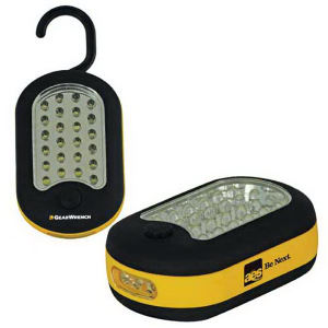 2-way 27-LED work light.
