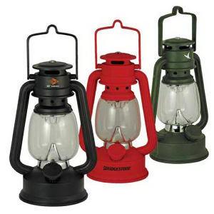 Plastic LED hurricane lantern.