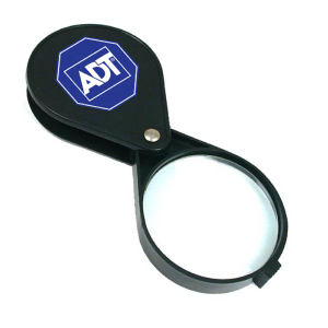 4X folding pocket magnifier.