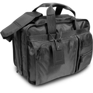 The District briefcase. Features