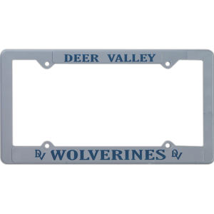 Promotional License Frames-1458