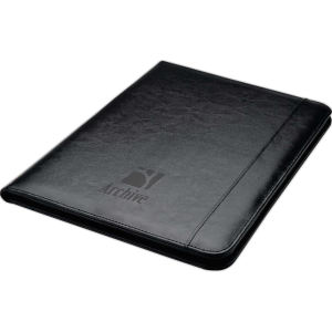 Leather letter-size pad folio