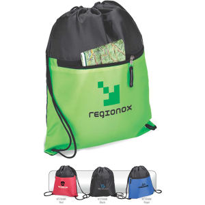 Drawstring sport bag with
