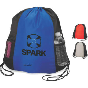 Sport bag with drawstring