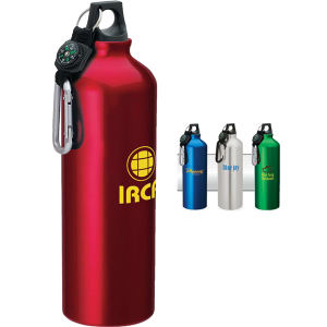 Aluminum sport flask with