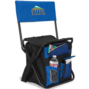 24-can folding cooler chair