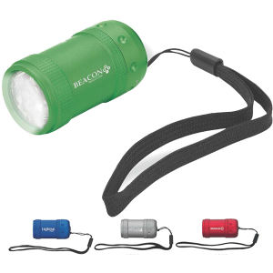 6-LED flashlight with nylon