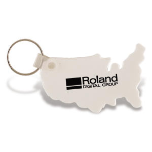 Promotional Vinyl Key Tags-KC115
