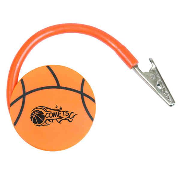 Flat basketball shaped memo