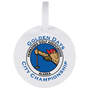 Promotional Golf Bag Tags-BT-ROUND