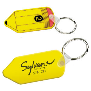 Promotional Vinyl Key Tags-KC135