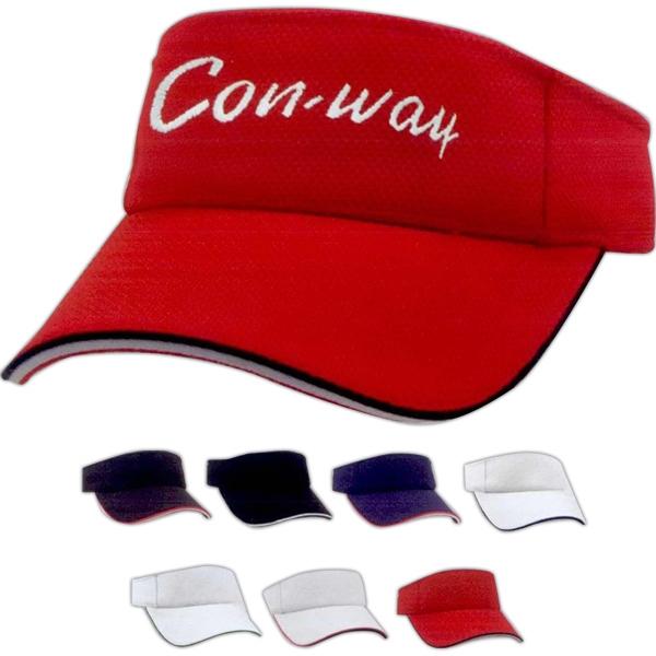 Mesh double visor. Designer