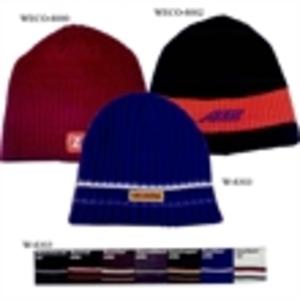 Promotional Knit/Beanie Hats-W-8303-B