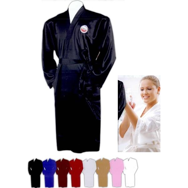 Robe. Soft silk-like elegant
