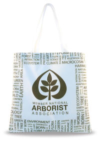 Recycled white EcoSpun tote