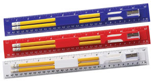 Promotional Pencils-Ruler Q50