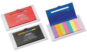 Refillable sticky notes tabs