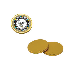 Promotional Tokens & Medallions-CC45-CHOC COIN