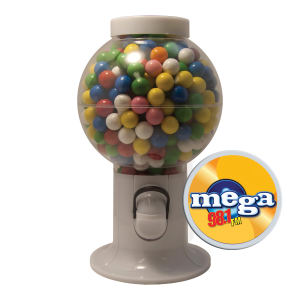 Promotional Food/Beverage Dispensers-GM06-GUMBALLS